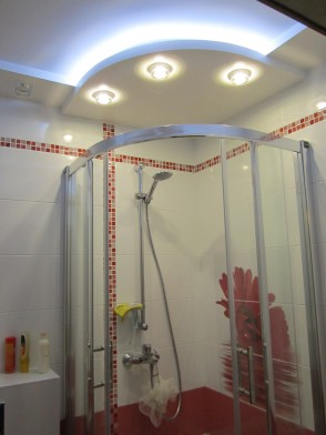 Ремонт ванной комнаты. Фото.