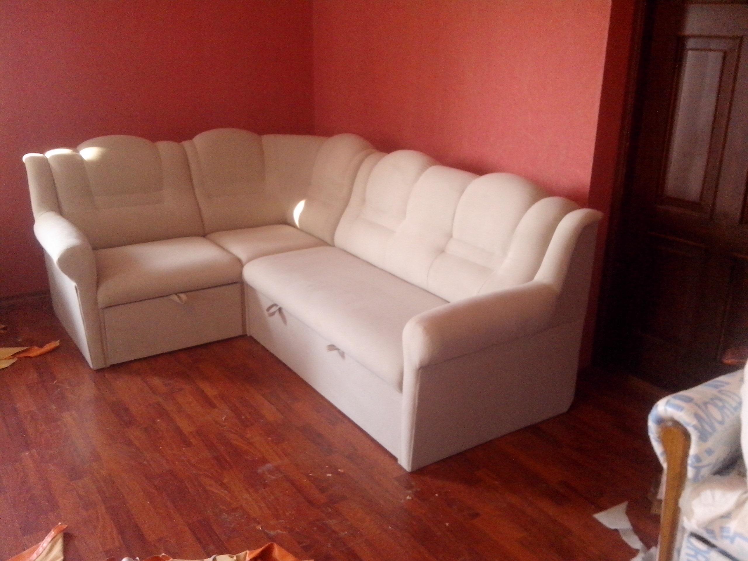 замена обивки на мягкой мебели