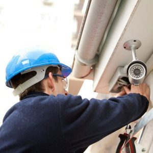 Установка камер видео наблюдения для дома и офиса