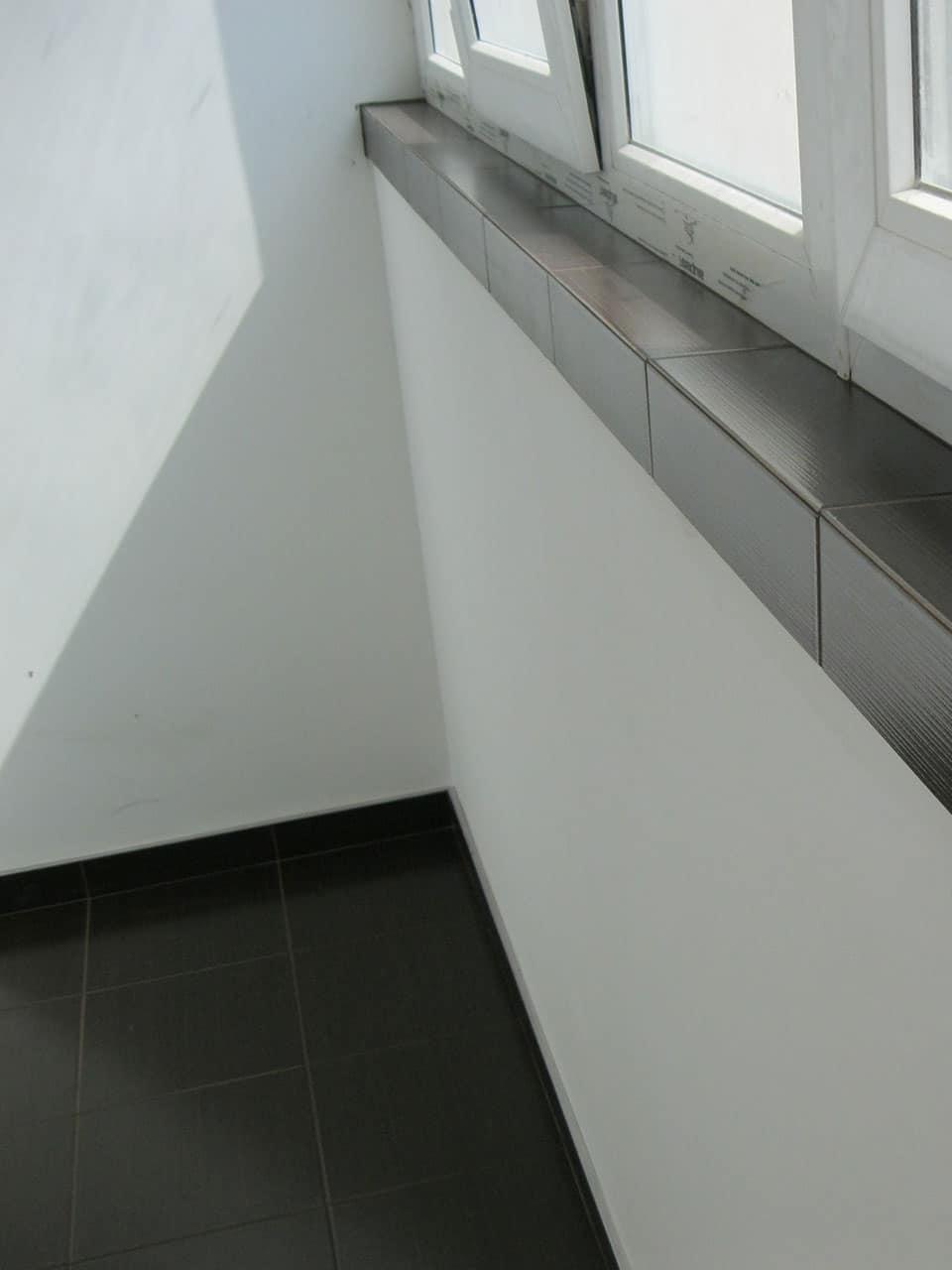 укладка плитки балкон