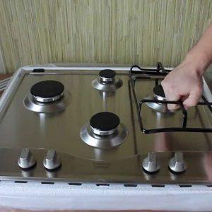 Установка электроплиты или газовой плиты